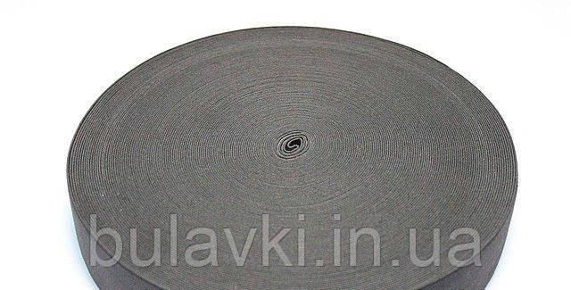 Эластичная лента/резинка 6 см черная