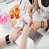 Коррекция нарощенных ногтей гелем
