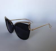 Женские солнцезащитные очки Kaizi 926 с 48 черные