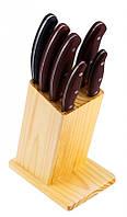 Набор ножей 7 пр, BERGNER BG 4191-BK