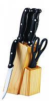 Набор ножей 7 пр, BERGNER BG 4186-BK
