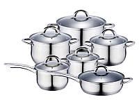Набор посуды 12пр WELLBERG WB 4360