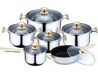 Набор посуды 12 пр. KaiserHoff KH 0435