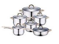 Набор посуды 12пр WELLBERG WB 4350