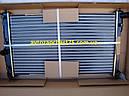 Радиатор Daewoo Lanos (c 1997 года, с кондиционером) 1.3 л, 1.4 л, 1.5 л, 1,6 литра  (Nissens, Дания), фото 2