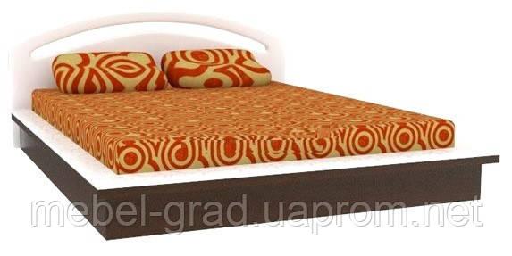 Ліжко двоспальне КТ-575 Верона БМФ 160х200