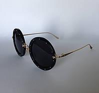 Женские солнцезащитные очки Kaizi 969 с 61 черные