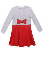 Платье для девочки из французского трикотажа