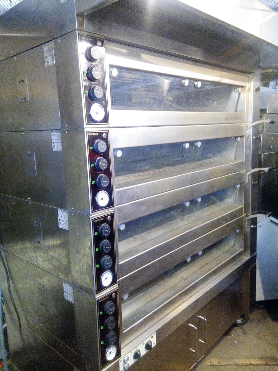 Подовая (4 пода) печь с расстоечной камерой Wiesheu (Германия)