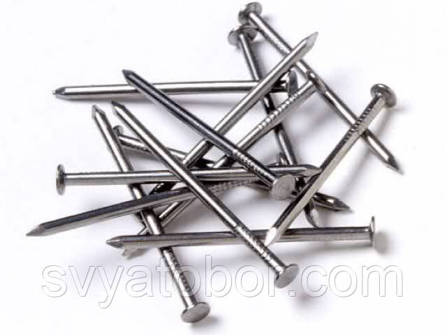 Гвозди строительные 100 мм (фасовка 1 кг)