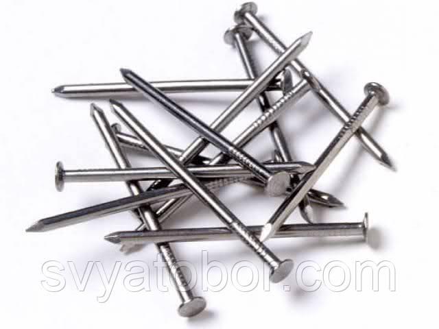 Гвозди строительные 50 мм (фасовка 1 кг)