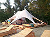 Аренда палаток Звезда 2 для мероприятий 13x10,5м на 30 человек
