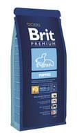 Brit Premium Puppies 15+3 кг-корм для щенков всех пород.
