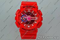Спортивные часы с водозащитой Casio G-Shock Ga-110 Red красные