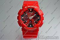 Спортивные часы противоударные Casio G-Shock Ga-110 Red красные