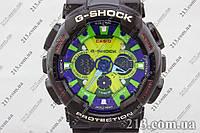 Спортивные часы Касио Casio G-Shock Ga-120 Black черные