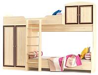 Двухъярусная кровать Дисней Мебель Сервис