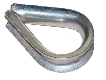 Коуш металлический на канат армированный 16 мм., фото 2