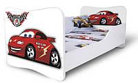 Кровать 180х80 Машина красная Nobiko