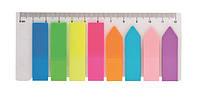 Закладки пластиковые с клейким слоем (BM.2307-98)
