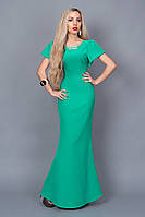 Платье  мод 238-6,размер 44,46,48 бирюза