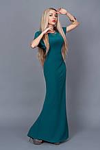 Платье  мод 238-7,размер 40 бутылочное