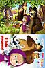 Печать съедобного фото - Формат А4 - Маша и Медведь №3 - Вафельная бумага