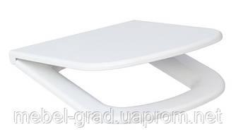 Сиденье с крышкой Cersanit Colour дюропласт антибактериальное с микролифтом