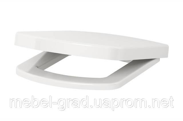 Сиденье с крышкой Cersanit Pure дюропласт