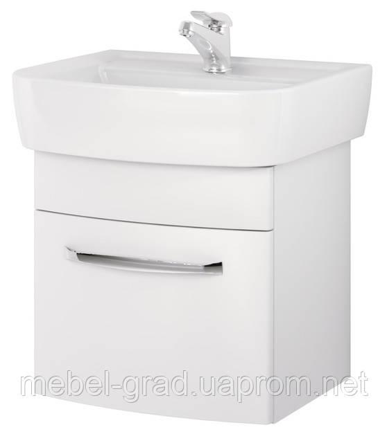 Шкафчик Cersanit Pure 55 под умывальник Pure белый