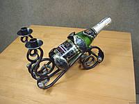 Кованая подставка под бутылку модель №22