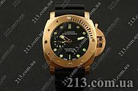 Мужские часы Panerai Luminor Submersible Gold