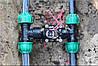 Монтаж установка системы автоматического полива