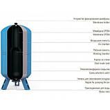 Мембрана 5/8л Se.Fa Италия для гидроаккумулятора Aquapress, фото 3