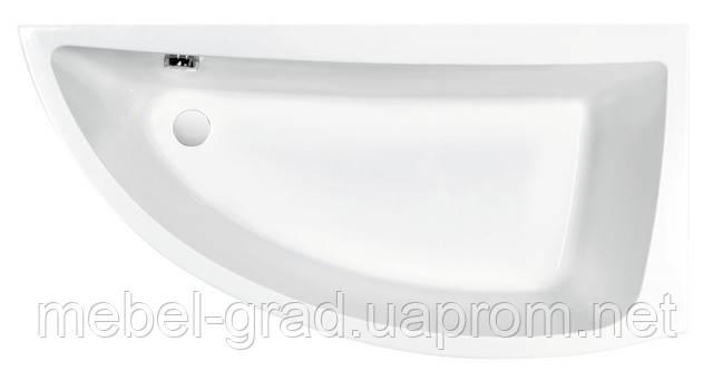 Ванна асимметричная Cersanit Nano 140x75 правая