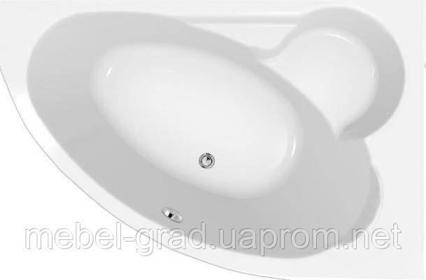 Ванна асимметричная Cersanit Kaliope 170x110 правая
