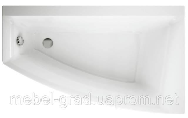 Ванна асимметричная Cersanit Virgo Max 160x90 правая