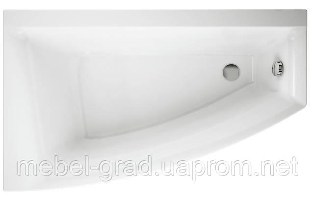 Ванна асимметричная Cersanit Virgo Max 150x90 левая