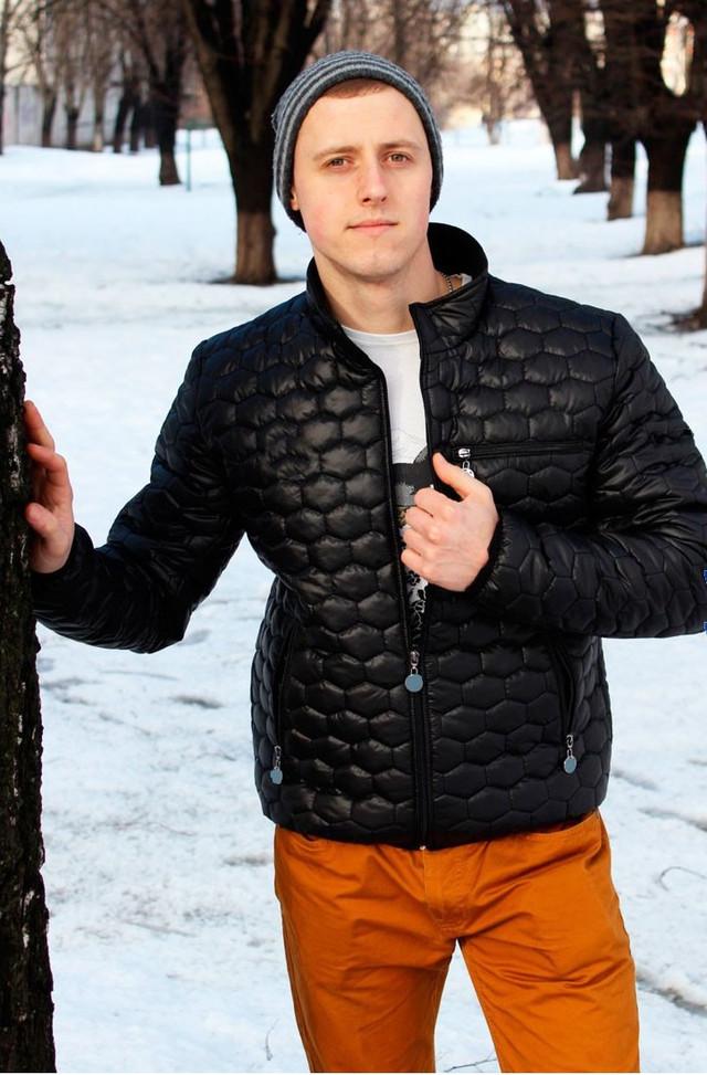 мужская черная спрортивная куртка