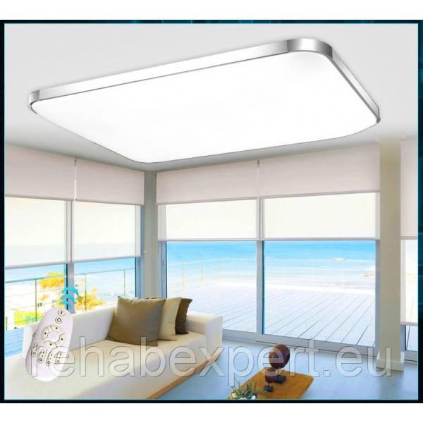 Современный Потолочный Светодиодный Светильник 92x65cm LED 80W