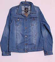Модный мужской джинсовый пиджак больших размеров