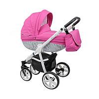 Универсальная коляска 2  в 1 Roan Bass, B3 pink black