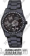 Женские японские часы на браслете Часы Q&Q GS99J402Y