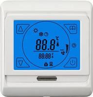 Программируемый сенсорный терморегулятор для теплого пола Terneo Sen