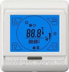 Програмований сенсорний терморегулятор для теплої підлоги Terneo Sen