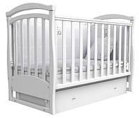 Кроватка для новорожденных Соня ЛД 6 Верес белый