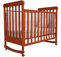 Кроватка для новорожденных Соня ЛД 12 с маятником Верес