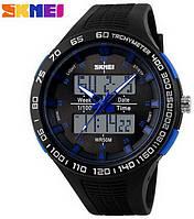 Мужские часы Skmei 1066 АТО Black-Blue