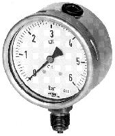 Манометр, мановакуумметр, вакуумметр технический показывающий