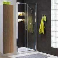 Душевые двери раздвижные Kolo Geo 6 100 см стекло Prismatic